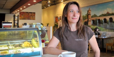 Silvia Bertolazzi is the founder and owner of Carpe Diem! Gelato - Espresso Bar in Downtown Lafayette.