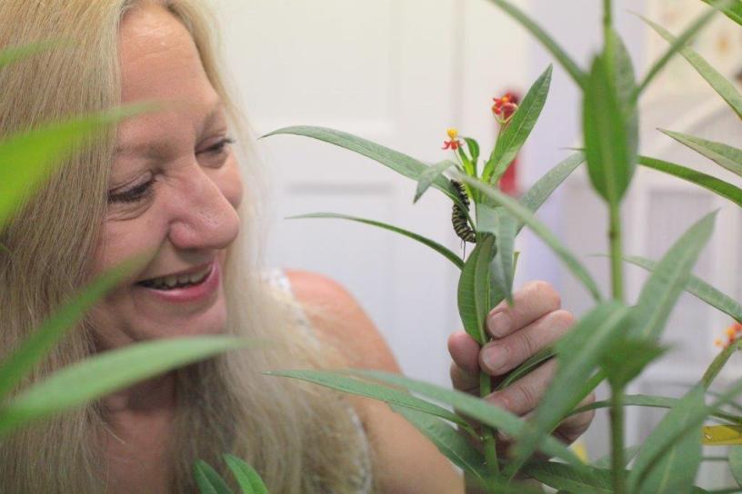 Linda Auld, aka The Bug Lady