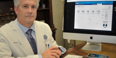 Lafayette cardiologist Dr. Kevin Courville has developed a revolutionary software solution that monitors patients daily and detects heart failure before it happens.